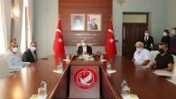 Vali Rahmi Doğan Hayırsever Hacı Pamuk'la Aile Sağlığı Merkezi yapım protokolü imzaladı