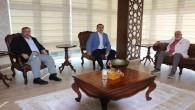 Hatay Barosu Başkanı Av. Hüseyin Cihat Açıkalın'dan Saadet Partisi Genel İdare Kurulu Üyesi Doç. Dr. Necmettin Çalışkan'a iade-i ziyaret