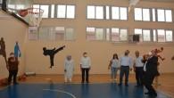 Başkan Yılmaz'dan Üç Puanlık Basket atışı büyük alkış aldı
