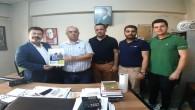 DEVA Partisi Antakya İlçe Başkanı Uğur Çakılı'dan Gazetemize ziyaret