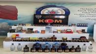 Antakya'da bir işyerinde yapılan aramada gümrük kaçağı içki ve cinsel içerikli ürünler yakalandı