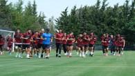 Atakaş Hatayspor  Kasımpaşa maçı hazırlıklarına kendi tesislerinde başladı