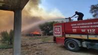 Hatay Büyükşehir Belediyesi İtfaiyesinde komşu illere yangın desteği