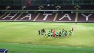 Atakaş Hatayspor Kasımpaşa maçı hazırlıklarını yeni statta sürdürdü