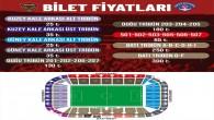 Atakaş Hatayspor Kasımpaşa maçının biletleri bugün satışta