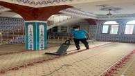 Antakya Belediyesi İbadethanelerdeki temizlik çalışmalarını titizlikle sürdürüyor