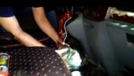 İskenderun'da bir araçta 1104 gram esrar yakalandı