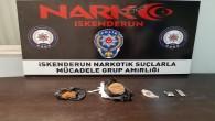 İskenderun'da 250 gram Sentetik Kannabionid yakalandı