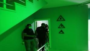 İskenderun'da Mesaj salonlarına operasyon: 24 yabancı uyruklu yakalandı