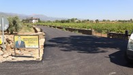 Hatay Büyükşehir Belediyesi Hassa'da Sapanözü ve Yuvalı Mahallesini asfaltladı