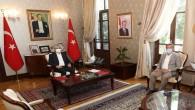 Yargıtay üyesi Mehmet Durgun'ndan Vali Rahmi Doğan'a ziyaret