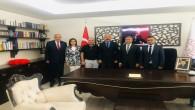Başkan İzzettin Yılmaz Destek Hizmetleri Genel Müdürlüğüne atanan Kemal Karahan'ı kutladı
