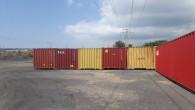 Jandarma çalınan 17 adet konteyniri bularak sahibine teslim etti