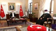 Türkiye Ermeniler patriği Maşalyan'dan Vali Doğan'a, Nezaket Ziyareti
