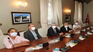 Vali Rahmi Doğan Başkanlığında Su Toplantısı Gerçekleştirildi