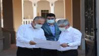 Vali Rahmi Doğan Restarasyonu devam eden İskenderun hükümet konağında incelemelerde bulundu