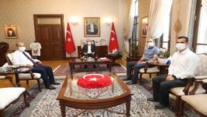 Vali Rahmi Doğan DSİ Genel  Müdür Yardımcısı Balta'yı kabul etti