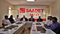 Anadolu Gençlik Derneği'nden Saadet Partisine ziyaret