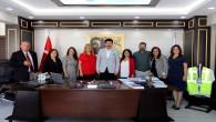 Ankaralı Muhtarlardan HAT SU Genel Müdürü Polat'a ziyaret