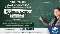 Antakya Belediyesinden Ücretsiz YDS-YÖK Dil hazırlık kursu