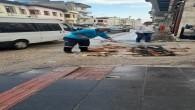 Antakya Belediyesi ekiplerinden mazgal temizliği!