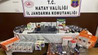 Hassa'da  gümrük kaçağı 23 adet cep telefonu ile telefon aksesuarları yakalandı