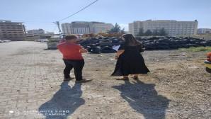 Çevre Dostu Antakya Belediyesi ömrünü tamamlamış lastiklerin geri dönüşüm sürecini denetledi!