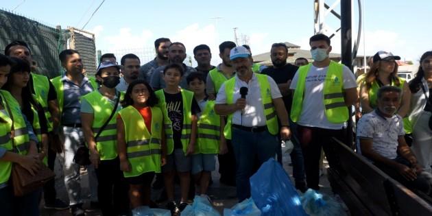 DEVA Partisi'nden 18 Eylül Dünya  Temizlik gününde, Temizlik etkinliği!