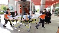 Hatay Büyükşehir belediyesi Hasta Nakil hizmetine devam ediyor!
