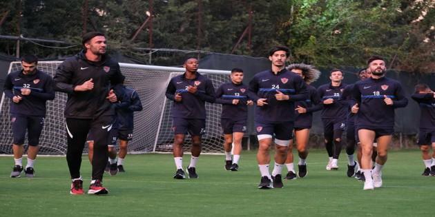 Atakaş Hatayspor Fenerbahçe maçı hazırlıklarını sürdürüyor