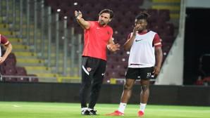 Atakaş Hatayspor Kayserispor maçı hazırlıklarını sürdürüyor