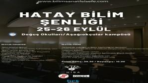 Hevesli İnsan Bilim Atölyeleri Derneği HİBA-DER'den Hatay Bilim Şenliği!