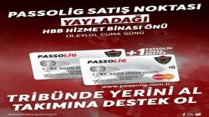 Atakaş Hatayspor Yayladağı'nda da Passolig satışlarına başladı