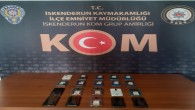 İskenderun'da gümrük kaçağı 20 Akıllı cep telefonu yakalandı