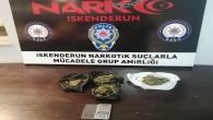 İskenderun'da uyuşturucu maddesi satan 8 kişi yakalandı