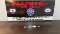 İskenderun'da 2 kişide sentetik uyuşturucu madde yakalandı