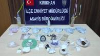 Kırıkhan ilçesinde 323  adet Captagon ve 150 adet Extacy  habı yakalandı