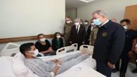 Milli Savunma Bakanı Hulusi Akar'dan, Hatay'a Ziyaret