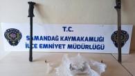 Antakya-Samandağ karayolunda durdurulan araçta uyuşturucu madde bulundu