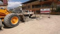Samandağ Belediyesi ekipleri asfalt çalışmalarına başladı