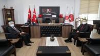 Vali Doğan'dan İskenderun Cumhuriyet Başsavcısı  Ünal'a Ziyaret