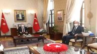 Milli Eğitim Bakanlığı Destek Hizmetler Genel Müdürlüğüne atanan Karahan, Vali Doğan'a  Veda etti