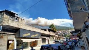 Habibi Neccar Dağı yine yanmaya başladı