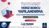 Antakya Belediyesinden hatırlatma: Yapılandırmada son gün 30 Eylül