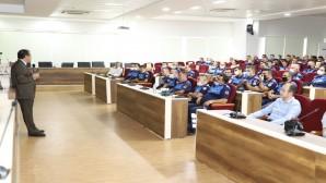 Hatay Büyükşehir Belediyesi Zabıtasına Personellerine Eğitim!
