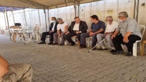 Saadet Partisi'nden Şehit Turgay Abacı ile Serkan Baş  ailesine taziye ziyareti