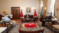 TUSİAD Londra Direktörü Turunç'tan Vali Doğan'a Ziyaret