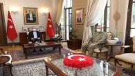 Tuğgeneral Kılınç Vali Doğan'a Veda Etti