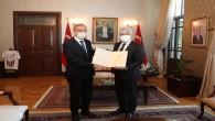 Emniyet Müdürü Vedat Yavuz'dan Vali Rahmi Doğan'a veda ziyareti