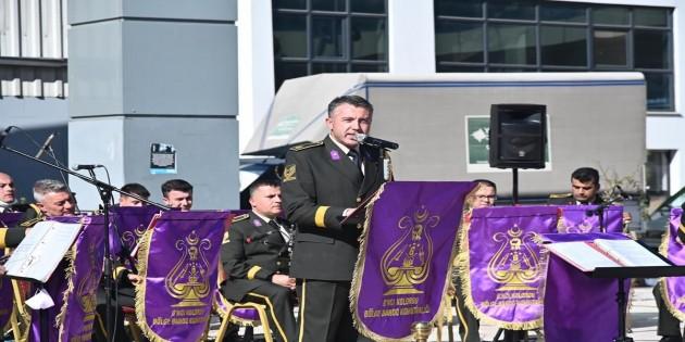 6. Kolordu Bölge Bandosu bugün Atatürk parkında konser verecek